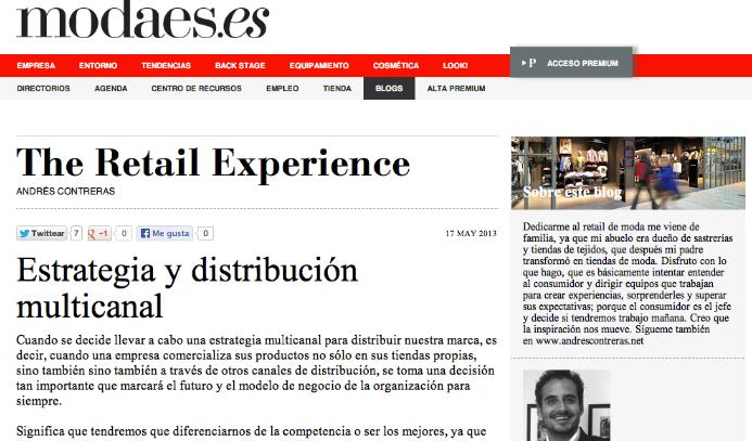 estrategia y distribucion multicanal